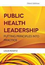9781284021738-1284021734-Public Health Leadership: Putting Principles Into Practice