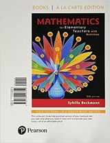 9780134800196-0134800192-Mathematics for Elementary Teachers with Activities, Loose-Leaf Edition Plus MyLab Math -- 24 Month Access Card Package (5th Edition)