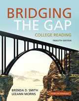 9780134072760-0134072766-Bridging the Gap: College Reading (12th Edition)