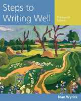 9781305394223-1305394224-Steps to Writing Well (Wyrick's Steps to Writing Well Series)