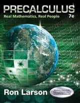 9781305071704-1305071700-Precalculus: Real Mathematics, Real People