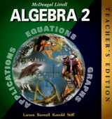 9780395978900-0395978904-McDougal Littell Algebra 2, Teacher's Edition