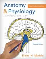 Anatomy and Physiology Coloring Workbook: A Complete Study Guide (11th Edition)