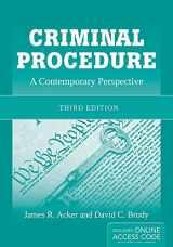 9781449652340-1449652344-Criminal Procedure: A Contemporary Perspective