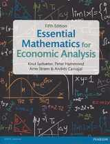 9781292074610-1292074612-Essential Mathematics for Economic Analysis, 5th ed.