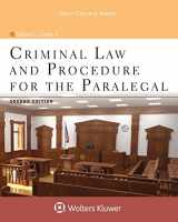 9781454873525-1454873523-Criminal Law and Procedure for the Paralegal (Aspen College)