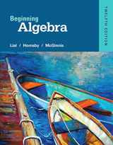 9780321969248-0321969243-Beginning Algebra plus NEW MyLab Math with Pearson eText -- Access Card Package (12th Edition) (What's New in Developmental Math?)