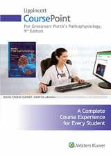 9781496307477-149630747X-Lippincott CoursePoint for Porth Pathophysiology Concepts of Altered Health States