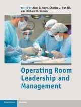 9781107017535-110701753X-Operating Room Leadership and Management (Cambridge Medicine)