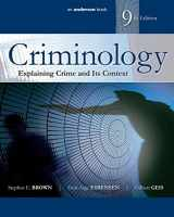 9780323356480-0323356486-Criminology: Explaining Crime and Its Context