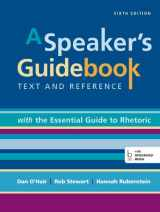 9781457689802-1457689804-A Speaker's Guidebook with The Essential Guide to Rhetoric