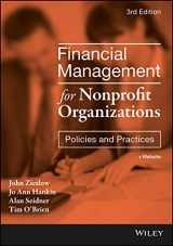 9781119382560-1119382564-Financial Management for Nonprofit Organizations: Policies and Practices