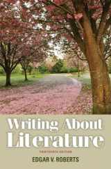 9780205230310-0205230318-Writing About Literature (13th Edition)