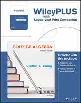 9781119339830-1119339839-College Algebra, 4th Edition WileyPLUS Learning Space Registration Card + Loose-leaf Print Companion