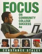 9781305109575-1305109570-FOCUS on Community College Success