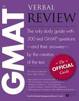 The Official Guide for GMAT(R) Verbal Review: The Official Guide : the Only Study Guide with 300 Rea