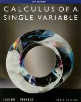 9780547212906-0547212909-Calculus of a Single Variable, 9th Edition