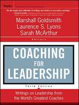9780470947746-0470947748-Coaching for Leadership: Writings on Leadership from the World's Greatest Coaches