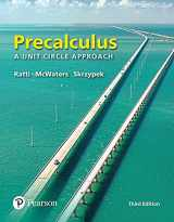 9780134433042-0134433041-Precalculus: A Unit Circle Approach