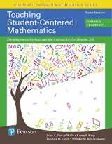 9780134081410-0134081412-Teaching Student-Centered Mathematics: Developmentally Appropriate Instruction for Grades 3-5 (Volume II), with Enhanced Pearson eText - Access Card ... Student-Centered Mathematics Series)