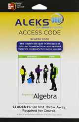 9780077634827-0077634829-ALEKS 360 Access Card (18 weeks) for Beginning Algebra