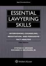 9781454830986-1454830980-Essential Lawyering Skills (Aspen Coursebook)