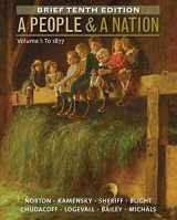 9781285430850-1285430859-A People and a Nation, Volume I: To 1877, Brief Edition