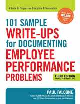 9780814438558-0814438555-101 Sample Write-Ups for Documenting Employee Performance Problems: A Guide to Progressive Discipline & Termination