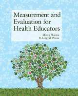 9781449628208-1449628206-Measurement and Evaluation for Health Educators