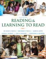 9780133831498-0133831493-Reading & Learning to Read, Enhanced Pearson eText with Loose-Leaf Version -- Access Card Package (9th Edition)