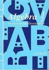 9781565774995-156577499X-Saxon Algebra 1/2 Kit