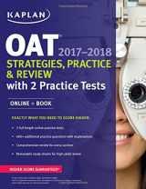 9781506209180-1506209181-OAT 2017-2018 Strategies, Practice & Review with 2 Practice Tests: Online + Book (Kaplan Test Prep)