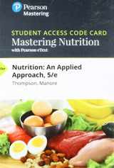 9780134618937-0134618939-Mastering Nutrition with MyDietAnalysis with Pearson eText -- Standalone Access Card -- for Nutrition: An Applied Approach (5th Edition)