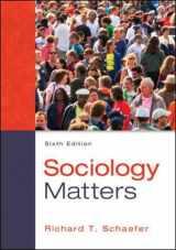 Sociology Matters