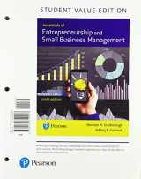 9780134742403-0134742400-Essentials of Entrepreneurship and Small Business Management, Student Value Edition (9th Edition)