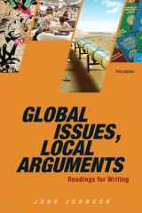 9780205886159-0205886159-Global Issues, Local Arguments (3rd Edition)