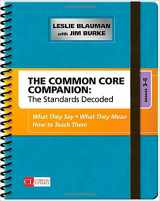 9781483349855-1483349853-The Common Core Companion: The Standards Decoded, Grades 3-5: What They Say, What They Mean, How to Teach Them (Corwin Literacy)