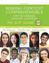 9780134530093-0134530098-Making Content Comprehensible for Secondary English Learners: The Siop Model