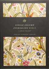9781433555268-1433555263-ESV Single Column Journaling Bible, Large Print (Summer Garden)