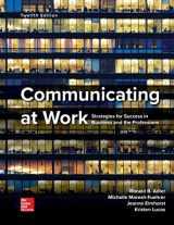 9781260411997-1260411990-Communicating at Work