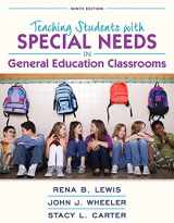 9780134017563-0134017560-REVEL for Teaching Students with Special Needs in General Education Classrooms with Loose-Leaf Version (9th Edition)
