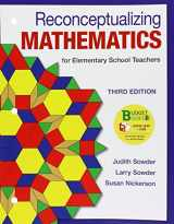 9781464193712-1464193711-Loose-leaf Version for Reconceptualizing Mathematics: for Elementary  School Teachers