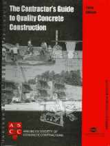 9780870311673-0870311670-Contractor's Guide to Quality Concrete Construction, 3rd Edition