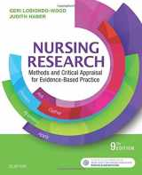 Nursing Research: Methods and Critical Appraisal for Evidence-Based Practice, 9e
