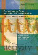 9781892132871-1892132877-Programming for Parks, Recreation, and Leisure Services: A Servant Leadership Approach