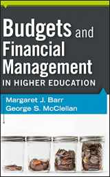 9780470616208-0470616202-Budgets and Financial Management in Higher Education
