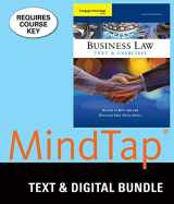 Bundle: Cengage Advantage Books: Business Law: Text and Exercises, Loose-Leaf Version, 8th + MindTap Business Law, 1 term (6 months) Printed Access Card