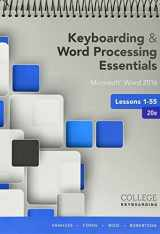 9781337213431-1337213438-Bundle: Keyboarding and Word Processing Essentials Lessons 1-55: Microsoft Word 2016, 20th edition + Keyboarding in SAM 365 & 2016 with MindTap ... 1 term (6 months), Printed Access Card