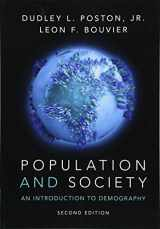 Population and Society: An Introduction to Demography