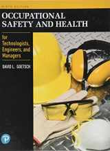 9780134695815-013469581X-Occupational Safety and Health for Technologists, Engineers, and Managers (9th Edition) (What's New in Trades & Technology)